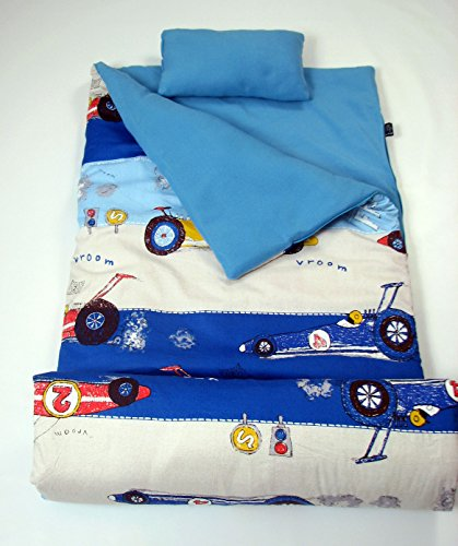 Olive Kids Collection - SoHo Kids Collection, Classic Sleeping Bag (Racing Wheels)