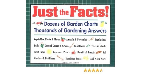 Dozens Of Garden Charts, Thousands Of Gardening Answers: Editors Of Garden  Way Publishing: 9780882668673: Amazon.com: Books