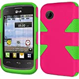 lg 305c phone case - HR Wireless LG 306G - Dynamic Cover - Retail Packaging - Hot Pink/Neon Green