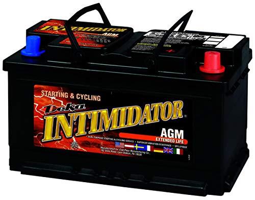 Deka 9A94R AGM Intimidator Battery (2010 Dodge Ram 1500 Battery Group Size)