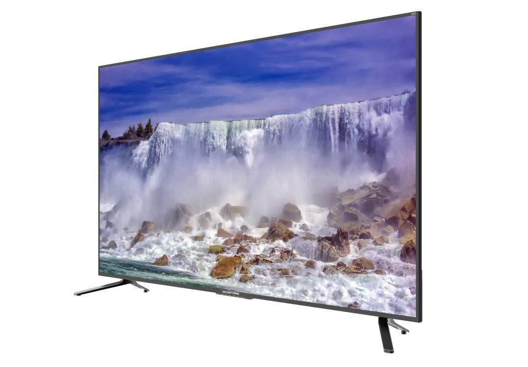 Sceptre 4K LED TV 2018, 65'', Metal Black (U658CV-UMRR) by Sceptre