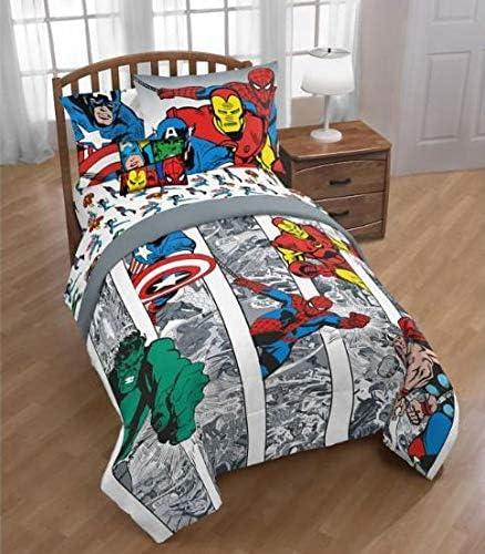 Amazon.com: Marvel Comics Avengers Boys Twin Comforter, Sheets