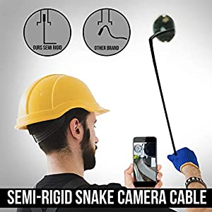 USB Endoscope Inspection Camera Type C Borescope 2.0 MP HD Camera with 8 LEDs for Android Smartphone and Windows (11.5 FT)