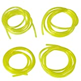 Fuel Line Hose Tube for Weedeater Chainsaw and Common 2 Cycle Small Engines 5 Feet 4 Sizes