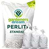 GardenersDream Premium Perlite Medium Grade | 0.6mm | For Mixing Compost Growing (100L)