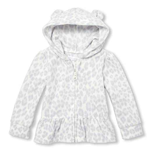 be5b0d19b1abd Amazon.com: The Children's Place Toddler Girls' Microfleece Hoodies ...