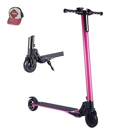 iScooter - Patinete eléctrico plegable para adultos (peso: 6 ...