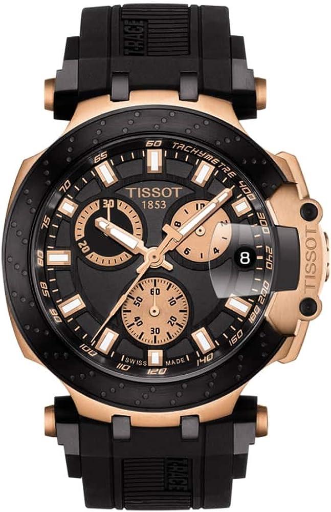 Tissot Reloj Cronógrafo para Hombre de Cuarzo con Correa en Silicona T1154173705100