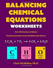 Worksheets All Chemistry Equations visionlearning chemistry chemical equations balancing equations