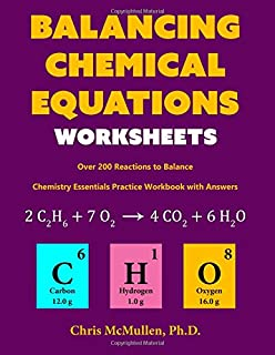 Homework chemistry instructional fair 9781568221434 amazon books balancing chemical equations worksheets over 200 reactions to balance chemistry essentials practice workbook fandeluxe Choice Image
