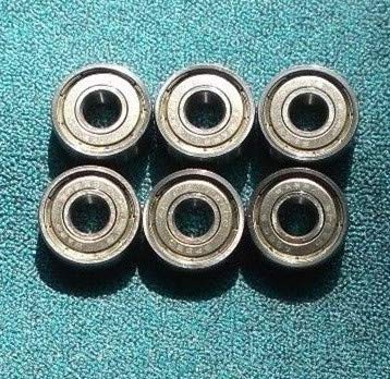 6 GUIDE BEARING SET FOR SEARS CRAFTSMAN 119.214000 BAND SAW - Hex Band Saw