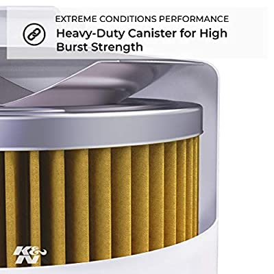 K&N Premium Oil Filter: Designed to Protect your Engine: Fits Select 2002-2020 INTERNATIONAL/FORD (4300, 4300LP, 1652SC, 4100, 4200, 4200LP, 7200, School Bus, MXT, F650, F750), HP-8026: Automotive