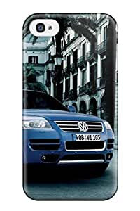 5956279K73631122 Tpu Case Skin Protector For Iphone 4/4s 2004 Volkswagen Touareg W12 Sport With Nice Appearance