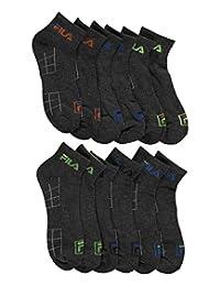 """Fila """"Swift-Dry Grid"""" 6-Pack Mini Crew Socks"""