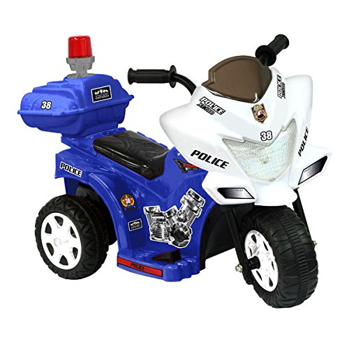 Ride On Toys Battery Powered Lil Patrol 6V Battery Powered M