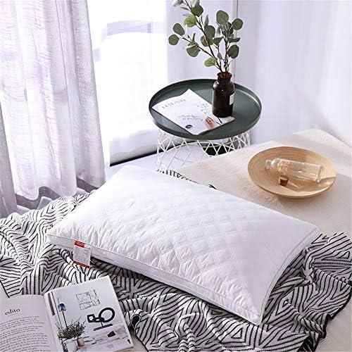 XZDXR Oreiller oreiller coton oreiller ménage oreiller cou oreiller coton oreiller unilatérale en coton (2) 48 * 74cm