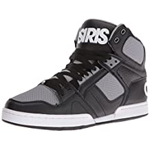 Osiris NYC 83 Hi Top Skate Shoe - Black / Grey