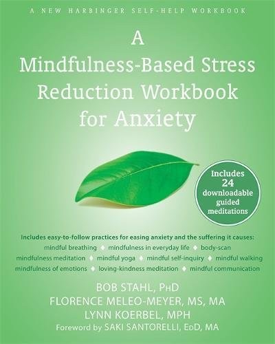 Mindfulness Based Stress Reduction Workbook Anxiety product image