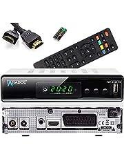 Anadol ADX 111c Full HD kabelontvanger, PVR opnamefunctie, timeshift, HDTV-ontvanger geschikt voor alle kabelaanbieders, HDMI SCART DVB-C, C/2, met automatische zenderinstallatie