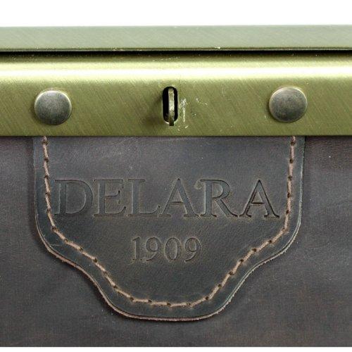 DELARA Borsa da medico in pelle ranger, inclusa una confezione di prodotto DELARA intensiva cura per la pelle (75ml) - Made in Germany