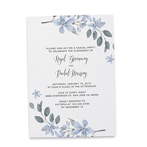 Wedding Rsvp Custom Announcements (