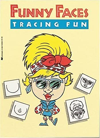 By Joan Berger - Funny Faces Tracing Fun (1987-09-16) [Paperback] - Faces Soft Book
