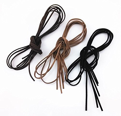 Honbay 9pcs 1 Meter Leather Cord Strings for Bracelet Necklace Beading Jewelry (Brown Leather Strap Jewelry)