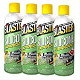 B'laster 16-SL Industrial Strength Silicone Lubricant 4 Pack