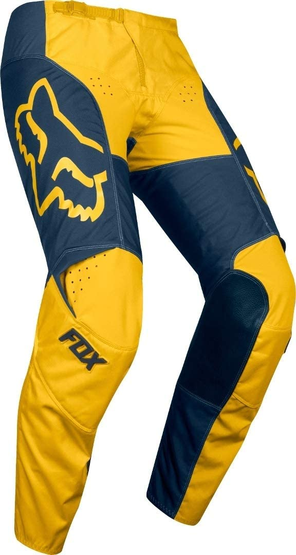 2019 Fox Racing 180 Przm Pants-Navy//Yellow-36