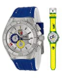 "TechnoMarine Unisex 114023C Cruise Brazil ""Tribute to Soccer"" Interchangeable Strap Watch Set"