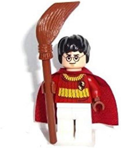 LEGO Harry Potter: Harry Potter (Quidditch Equipo) Minifigura Con Palo De Escoba