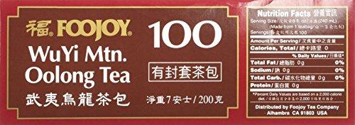 Wu Yi Oolong Tea Wulong Tea 100 Bags Foojoy by Wu Yi Oolong Tea (Image #4)