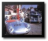 james dean car - James Dean (Car) 24x20 Framed Art Print