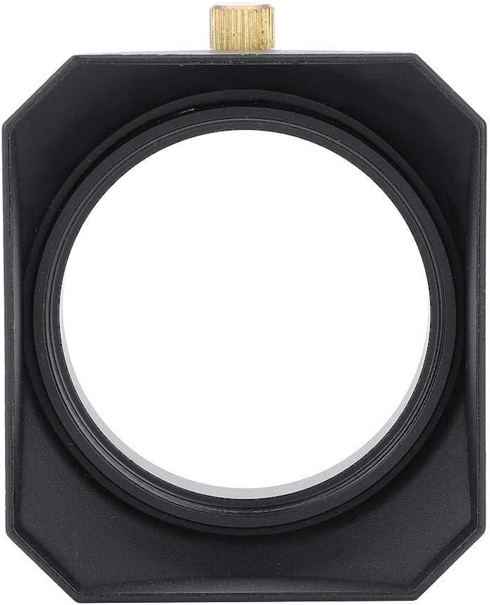 49mm Square Lens Hood Shade for DV Camcorder Digital Video Camera Lens Filter or Barrel Thread Pomya DV Lens Hood