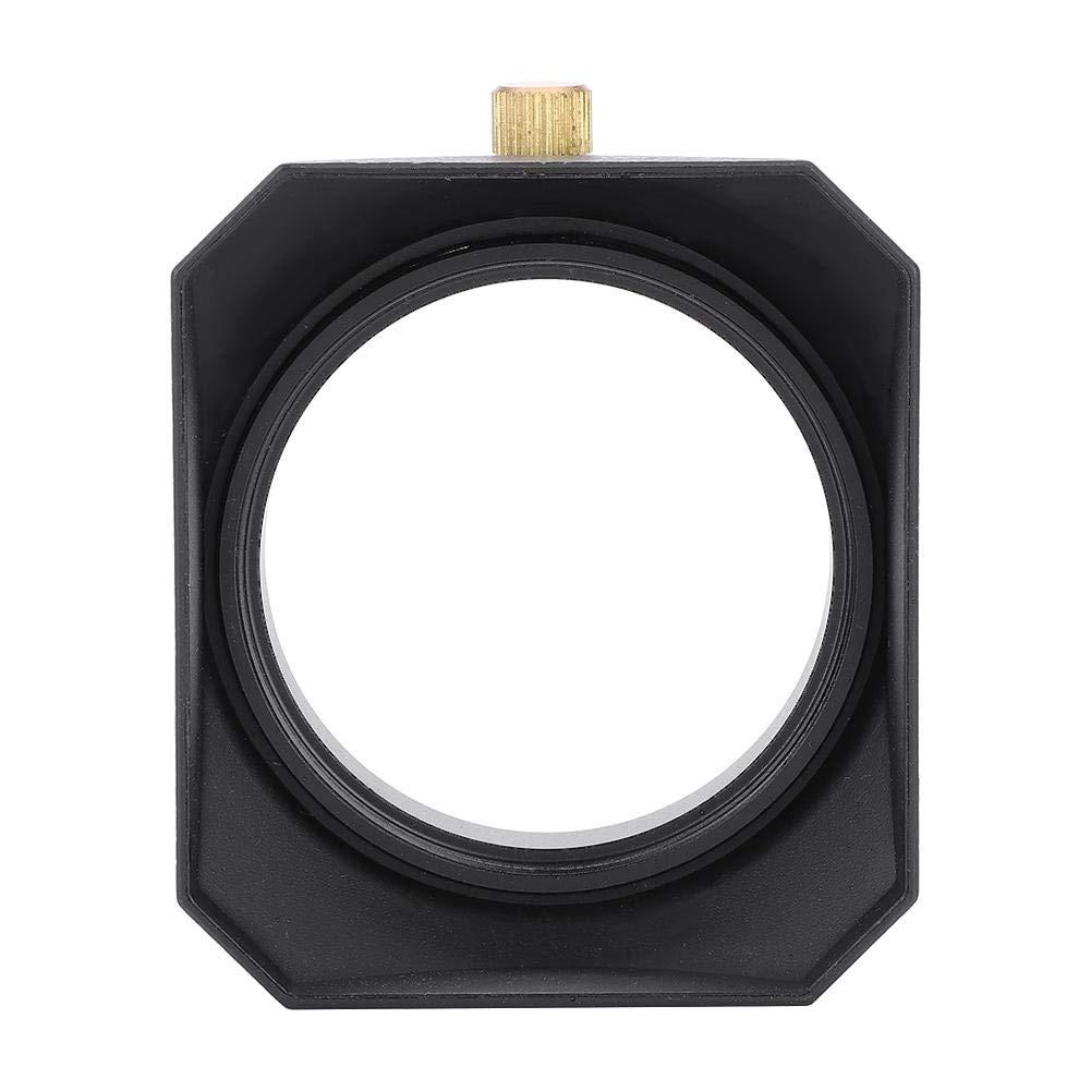 Mugast 49 mm Universel Pare-Soleil Carr/é DV pour Cam/éscope DV Filtre dObjectif Cam/éra Vid/éo Num/érique Fil Cylindrique