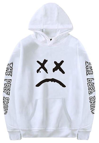 Socluer Unisex Adolescentes Lovers Lil Peep Sudadera con Capucha EMO Rap Cool Pullover Crybaby Spotlight: Amazon.es: Ropa y accesorios