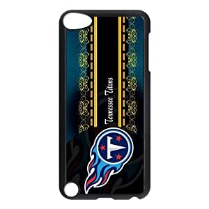 STYLE-UM@ Durable Plastic Case for ipod touch 5 with Tennessee Titans Design (White or Black)
