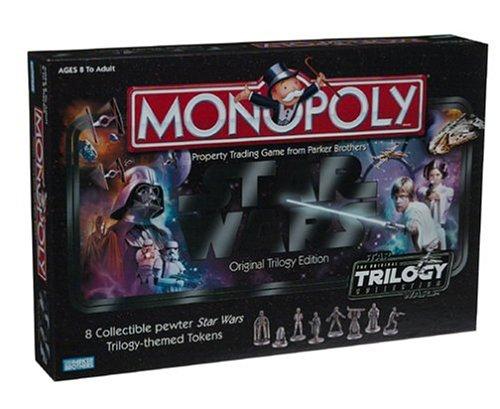 Monopoly - Star Wars Original Trilogy Edition Trilogy Monopoly