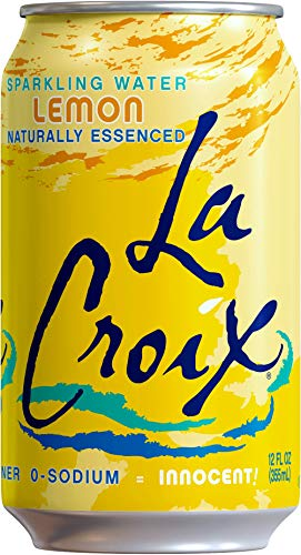 LaCroix Sparkling Water, Lemon, Lime, & Grapefruit Variety Pack, 12oz Cans, 24 Pack, Naturally Essenced, 0 Calories, 0 Sweeteners, 0 Sodium by Shasta Beverages, Inc (Pantry) (Image #2)
