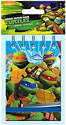 Amazon.com: Teenage Mutant Ninja Turtles Book A7 with Rubber ...