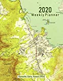 2020 Weekly Planner: Kaneohe, Oahu, Hawaii (1954): Vintage Topo Map Cover