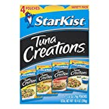 StarKist Tuna Creations Variety Pack - 2.6 Ounce Pouch, Pack of 4 (Multiple Flavors)