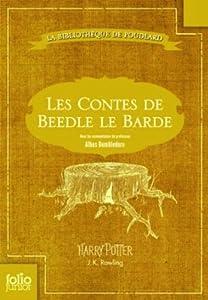 vignette de 'La bibliothèque de Poudlard<br /> Les contes de Beedle le barde (Joanne Kathleen Rowling)'