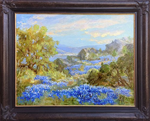 Bluebonnet Ridge II - Meadow Canvas 2