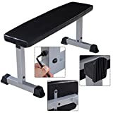 DreamHank Sit Up Bench Flat Crunch Board AB Abdominal Fitness Weight Exercise