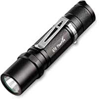 ThorFire Mini flashlight with 14500 battery and charger, 500 Lumen Ultra Bright EDC Pocket Light TG06S Perfect for Camping Hiking Emergency