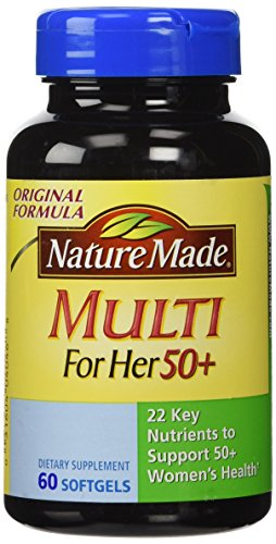 Nature Made Multi for Her 50 60 Softgels