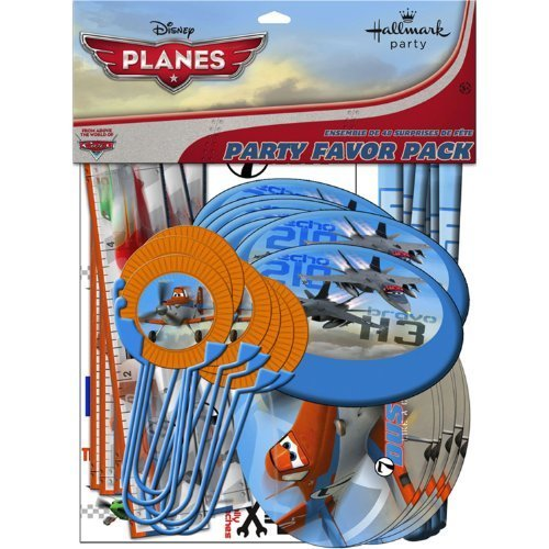 Disney Planes Party Favor Value Pack by Hallmark [Toys & (Disney Planes Party Favor Value Pack)