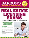 Barron's Real Estate Licensing Exams, 9th Edition