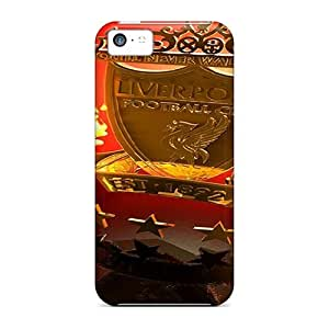 PhilHolmes Iphone 5c Scratch Protection Phone Case Custom HD Liverpool Pictures [MdE4758rcYW]